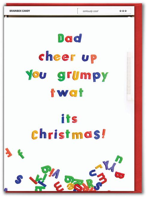 Dad Cheer Up Christmas Card