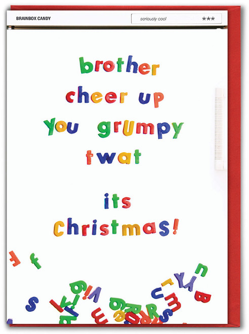 Brother Cheer Up Christmas Card