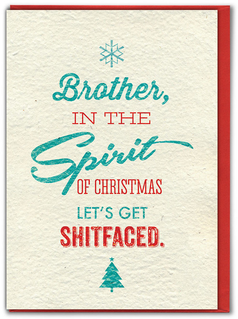 Brother Spirit Of Xmas Christmas Card