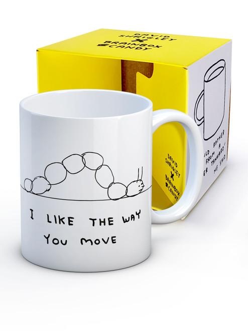 David Shrigley I Like The Way You Move Boxed Mug