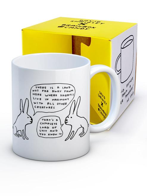 David Shrigley Live In Harmony Boxed Mug