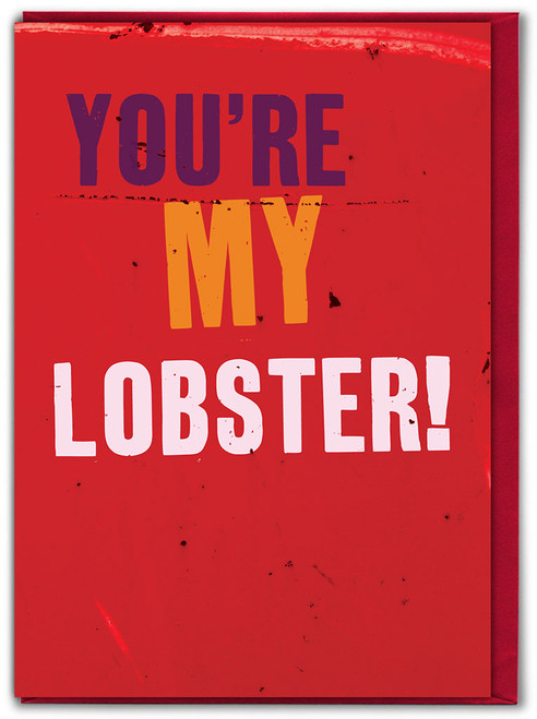 You're My Lobster Valentine's Day Greetings Card
