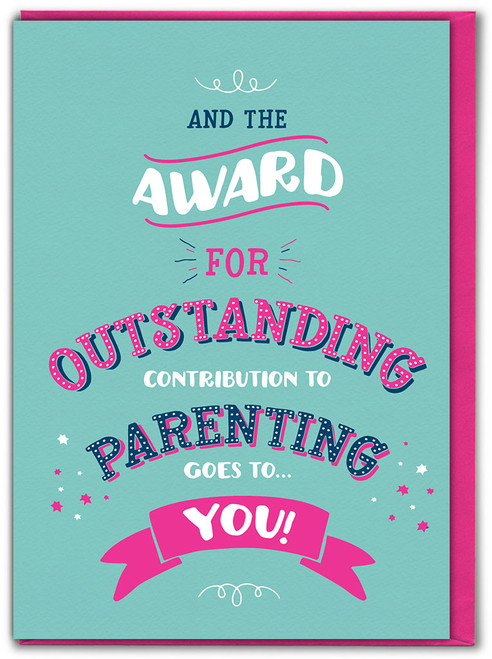 Outstanding Parenting Mother's Day Greetings Card