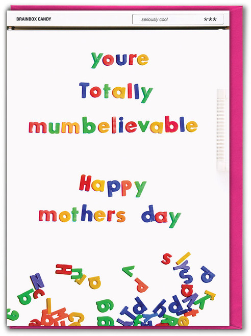 Mumbelievable Mother's Day Greetings Card