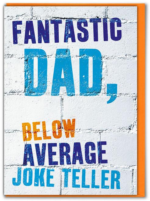 Joke Teller Father's Day Greetings Card