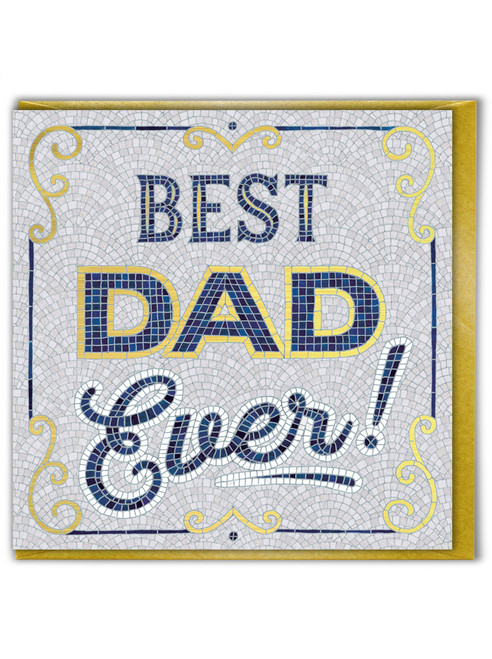 Best Dad Ever Father's Day Greetings Card
