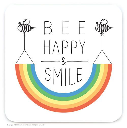 Bee Happy Coaster