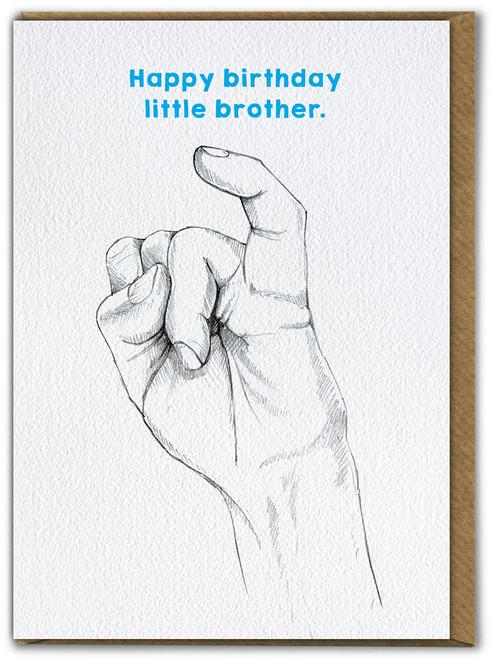 Little Brother Birthday Card