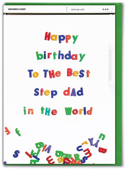 Best Step Dad Birthday Card