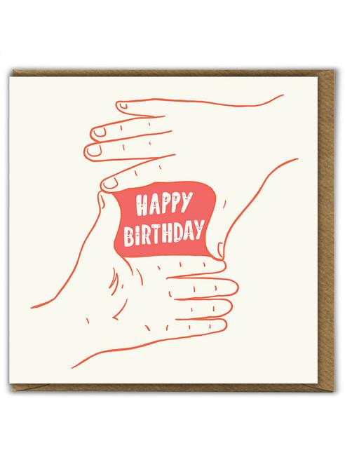 Focus On Happy Birthday Greetings Card