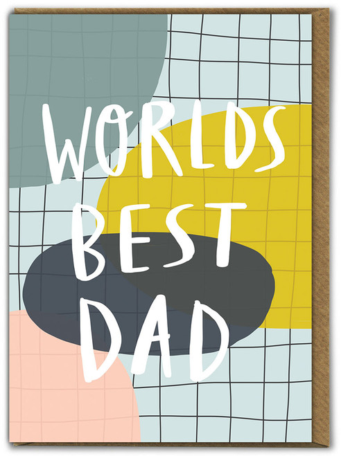 Worlds Best Dad Father's Day Card