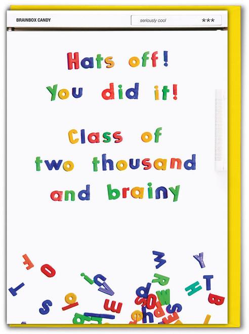 Hats Off You Did It Congratulations / Exam / Graduation Card