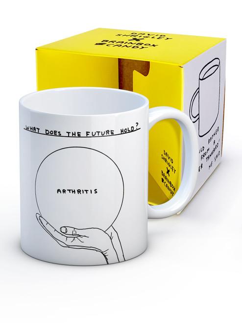 David Shrigley Arthritis Boxed Mug