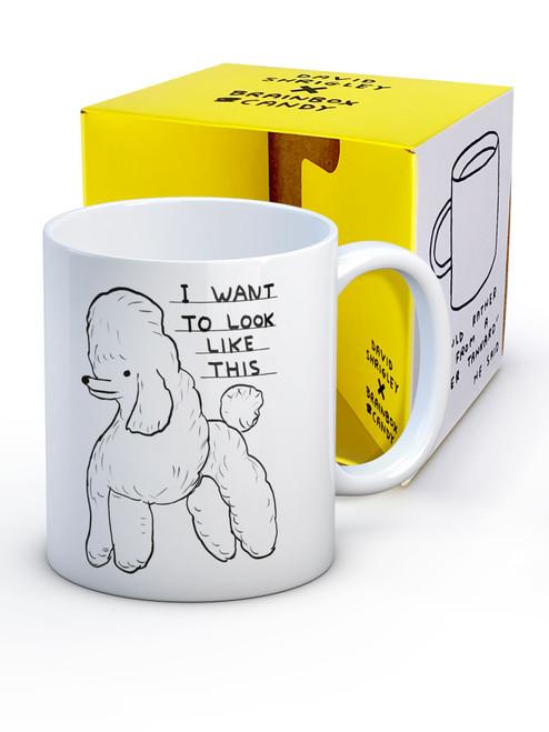 David Shrigley Want To Look Like This Boxed Mug