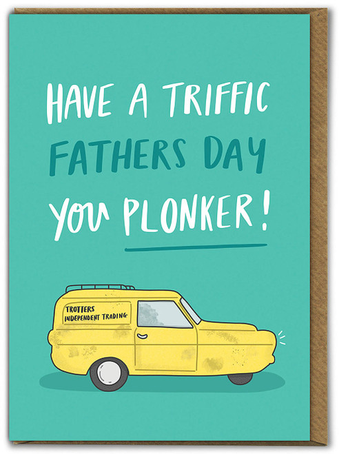 Triffic Father's Day Greetings Card