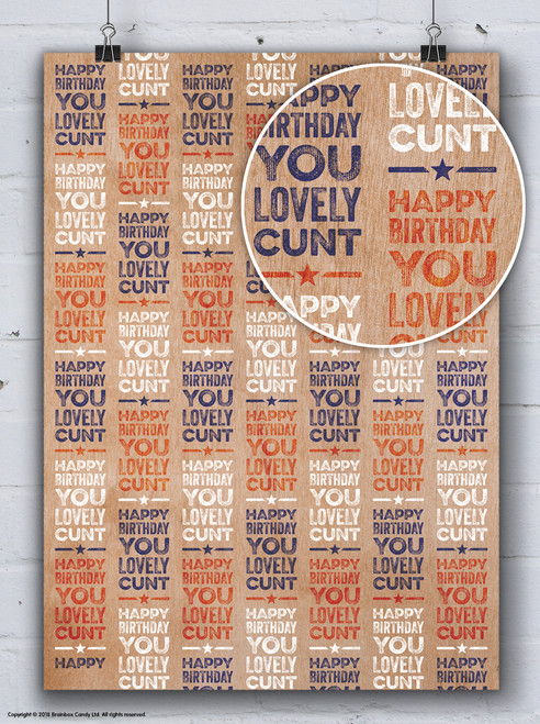 Lovely Cunt Gift Wrap