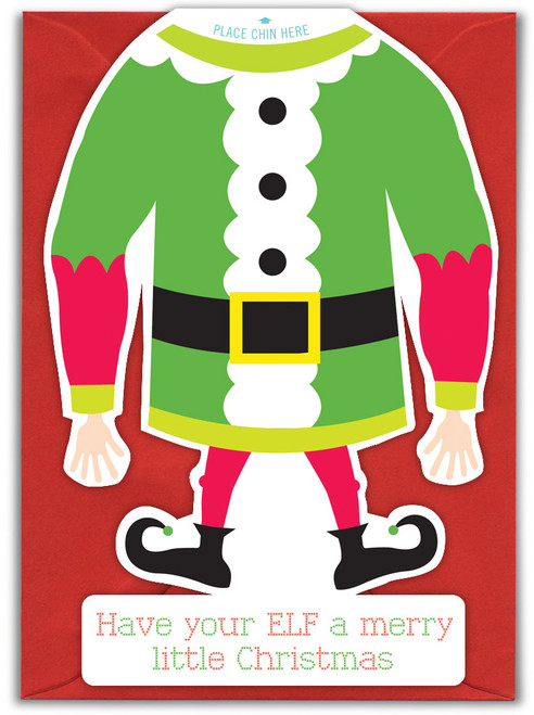 Have Your Elf Christmas Card