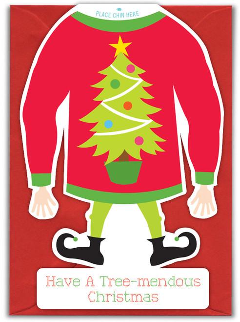 Tree Mendous Christmas Card