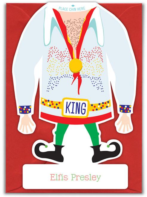 Elfis Presley Xmas Card