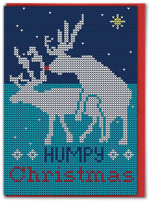 Humpy Christmas Xmas Card