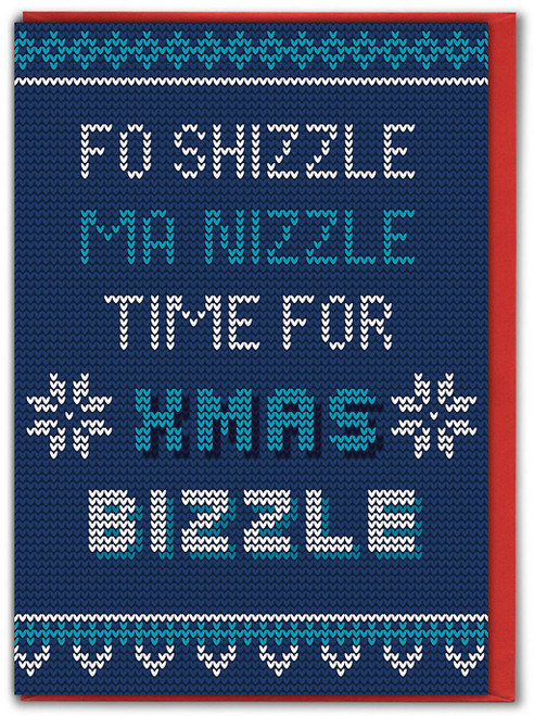 Fo Shizzle Christmas Card