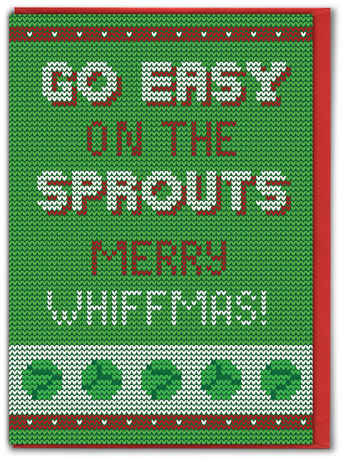 Easy Sprouts Christmas Card