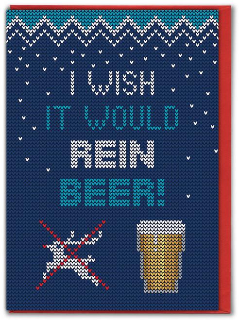 Rein Beer Christmas Card