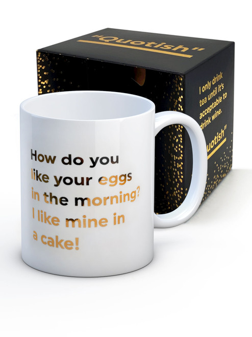 Eggs In The Morning Boxed Mug