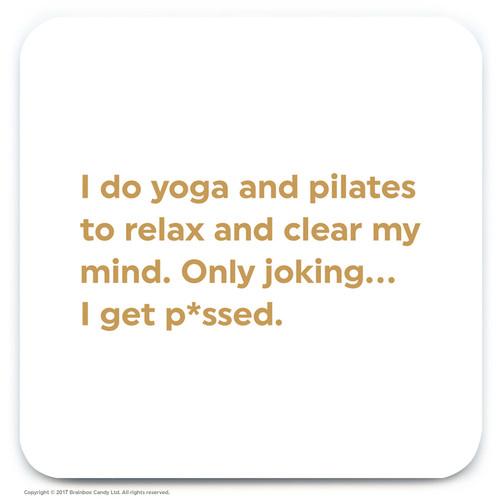 Yoga And Pilates Coaster