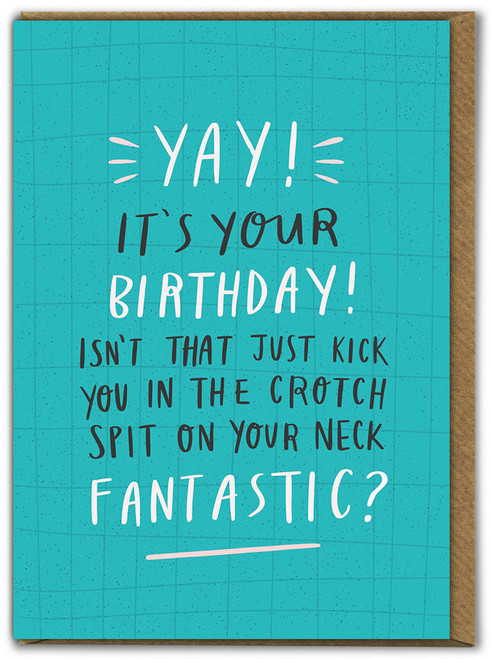 Yay! It's Your Birthday Card