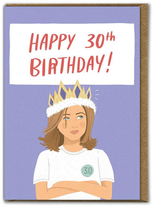 30th Birthday Age Card (SUN146)