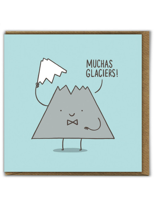 Muchas Glaciers Thank You Card