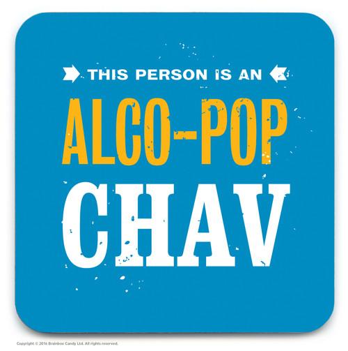 SALE - Alco-Pop Chav Coaster (Distressed Design)