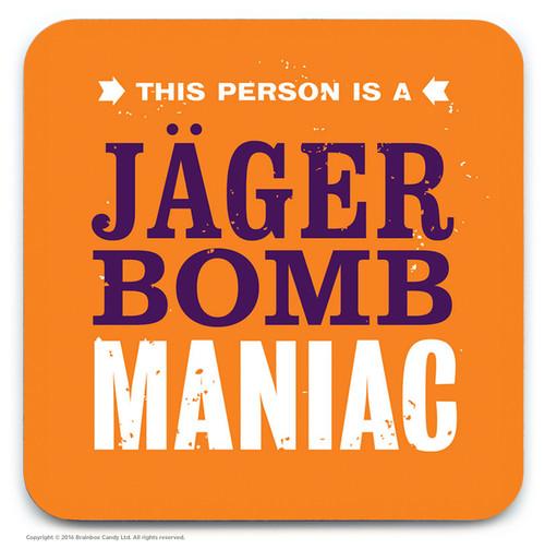SALE - Jager Bomb Maniac Coaster (Distressed Design)