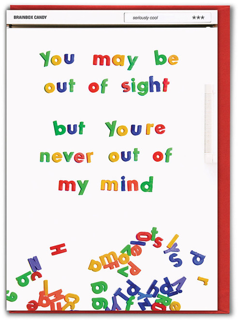 Never Out Of My Mind Missing You Card