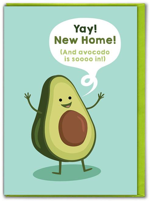 New Home Avocado Card