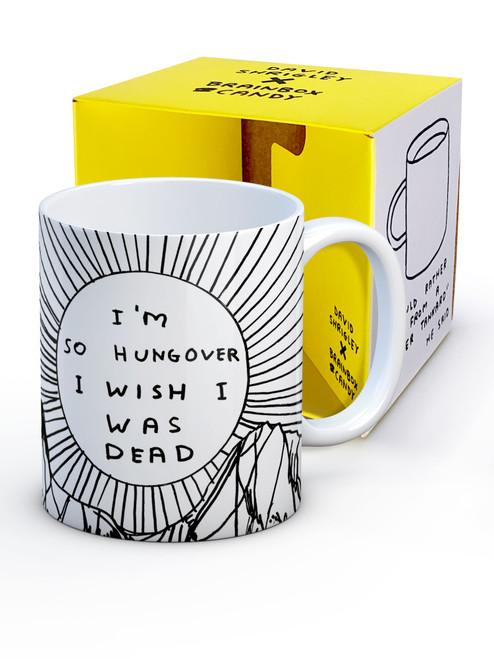 David Shrigley I'm So Hungover Boxed Mug