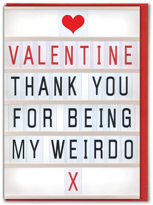 Weirdo Valentine's Day Card
