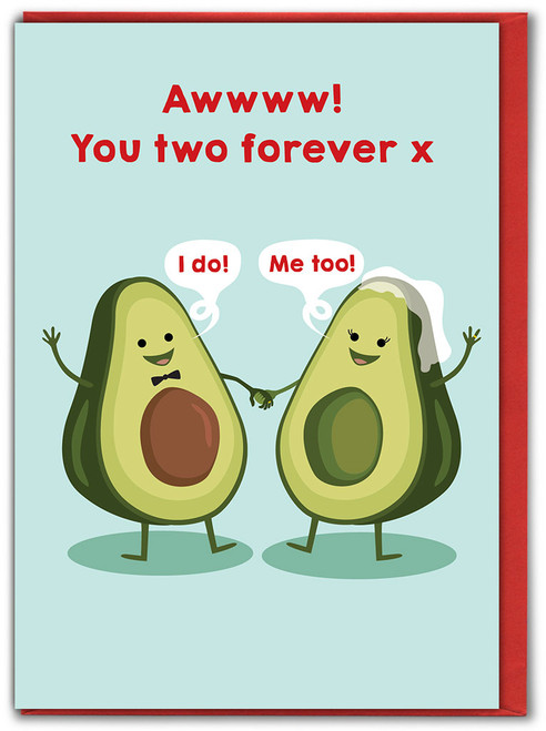 You Two Forever Wedding Card