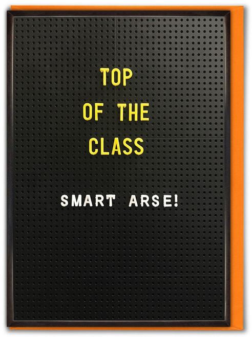 Top Of The Class Congratulations / Exams Card