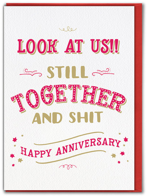 Still Together Anniversary Card