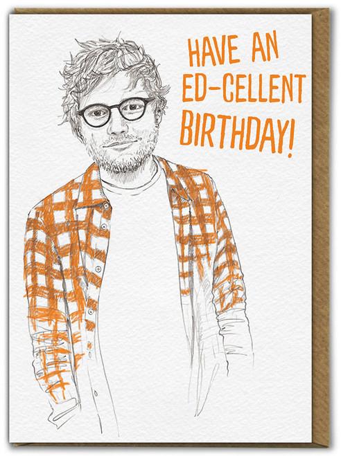 Ed-cellent Birthday Card
