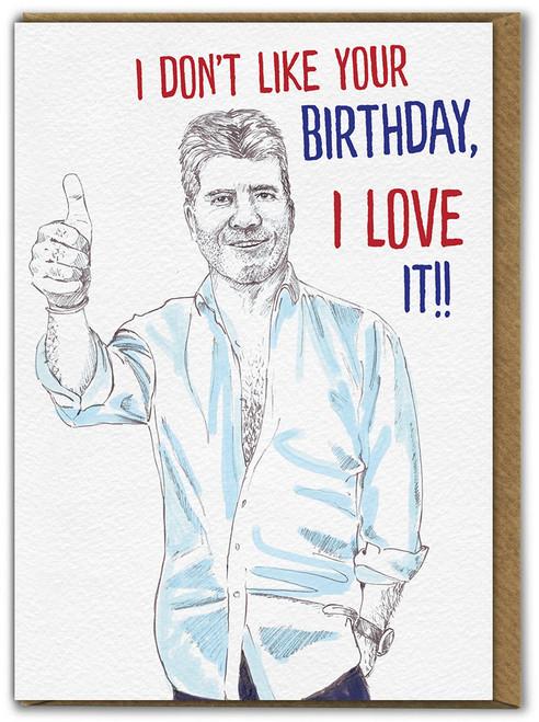 Love Your Birthday Card