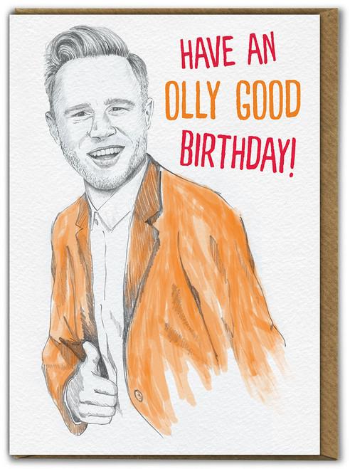 Olly Good Birthday Card