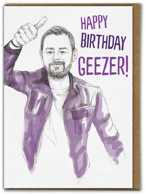 Birthday Geezer Card