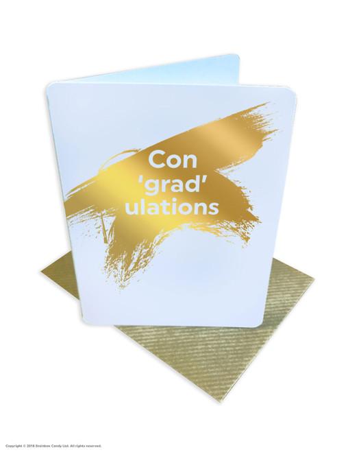 Congradulations (Gold Foiled) Congratulations Graduation Card