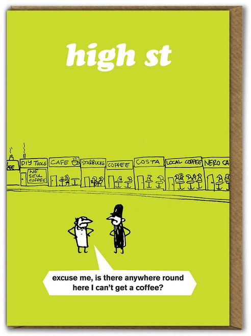 High Street Coffee Card