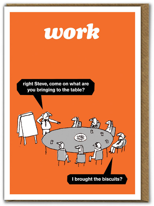 Work Biscuits Card