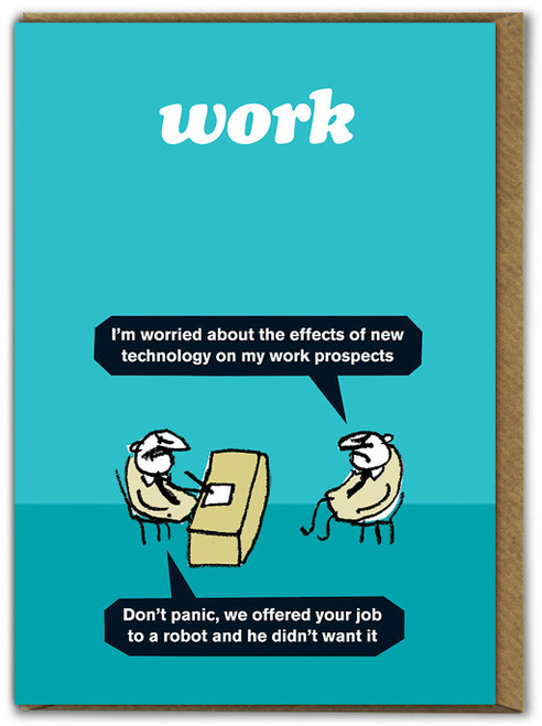 Work Robot Card