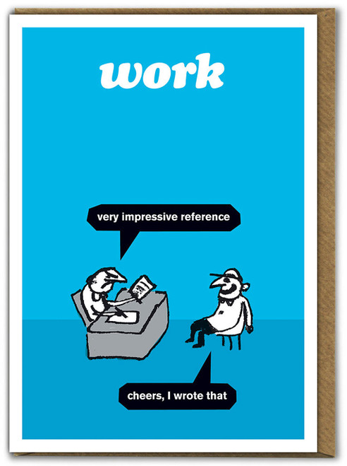 Work Impressive Reference Card
